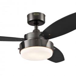 Ventilator de tavan cu lumină și control lanț Westinghouse Alloy 78764, Ø 105 cm