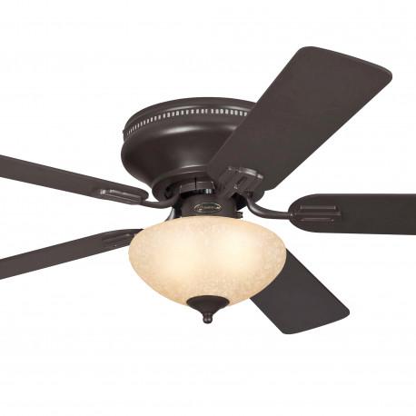 Ventilator de tavan cu lumină și control lanț Westinghouse Everett 72154, Ø 132 cm