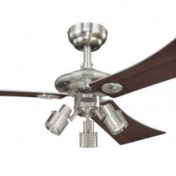 Ventilator de tavan cu lumină și control lanț Westinghouse Audubon 72119, Ø 122 cm