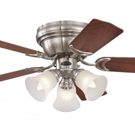 Ventilator de tavan cu lumină și control lanț Westinghouse Contempra Trio 72073, Ø 90 cm