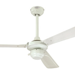 Ventilator de tavan cu protecție IP44 și control lanț Westinghouse Mountain Gale 72423, Ø 132 cm