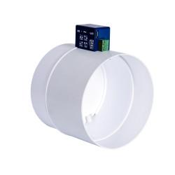 Clapetă antiretur PVC electrică Ø 125 mm