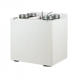 Unitate de recuperare centrală a căldurii silențioasă, cu aplicație mobilă Ø 125 mm