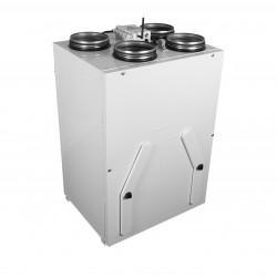 Unitate de recuperare centrală a căldurii silențioasă, cu aplicație mobilă Ø 160 mm