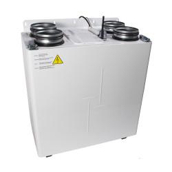 Unitate de recuperare centrală a căldurii silențioasă, cu aplicație mobilă Ø 160 mm, putere mare