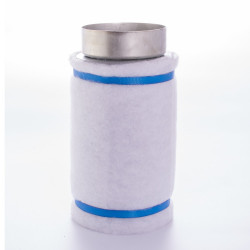 Filtru de carbon la conductă Ø 100 mm, lungime 250 mm