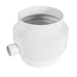 Sifon plastic Ø 125 mm pentru drenajul condensului de apă din conductă