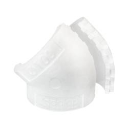 Izolație pentru cot 45° circular plastic de Ø 100 mm