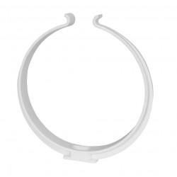 Colier plastic pentru conductă circulară Ø 125 mm