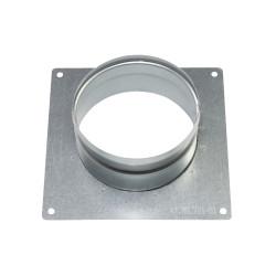 Flanșă metalică cu placă Ø 100 mm