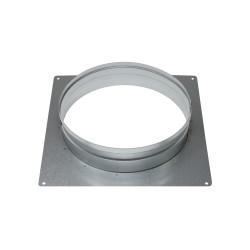 Flanșă metalică cu placă Ø 200 mm