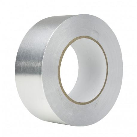 Bandă adezivă din aluminiu până la 350 °C, 50 m