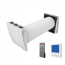 Unitate de tratare a aerului Dalap ZEPHIR SIMPLE cu telecomandă și controler de perete