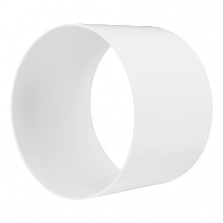 Conector exterior circular plastic Ø 100 mm