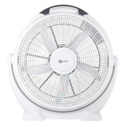 Ventilator de podea DALAP SILVIA alb, Ø 50 cm