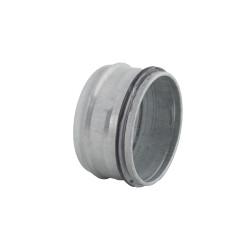 Dop metalic cu cauciuc de etanșare pentru conducte de aer Ø 125 mm