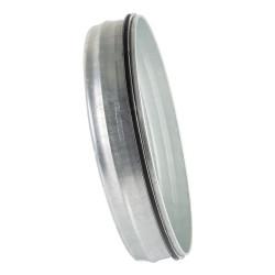 Dop metalic cu cauciuc de etanșare pentru conducte de aer Ø 150 mm