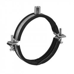 Colier cu protecție cauciuc pentru conductă Ø 100 mm