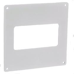 Placa de montaj PVC pentru conducte rectangulare 110x55 mm