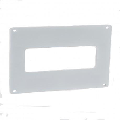 Placa de montaj PVC pentru conducte rectangulare 204x60 mm