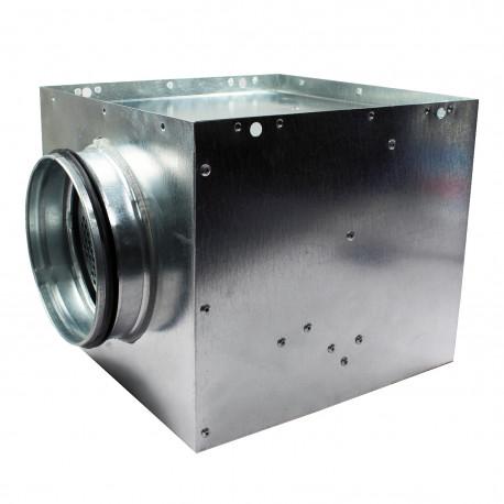 Cutie plenum pentru anemostat turbionar Ø 200 mm / 372x372 mm