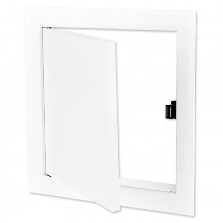 Ușă de vizitare metalică cu magnet 298x398 mm