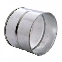Conector metalic exterior Ø 80 mm
