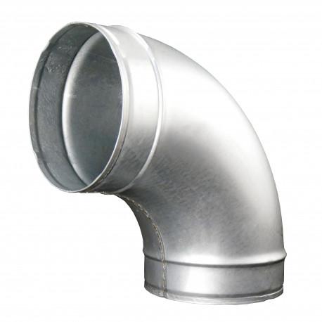 Cot metalic circular 90°, Ø 160 mm