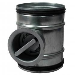 Clapetă antiretur manuală cu cauciuc de etanșare Ø 100 mm