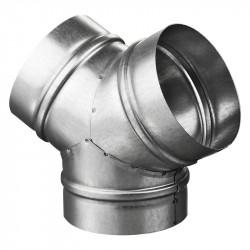 """Ramificație """"Y"""" metalică pentru bifurcații conducte Ø 160 / Ø 160 mm"""