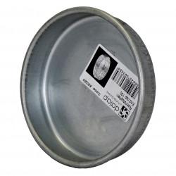 Capac metalic pentru conductă circulară Ø 100 mm