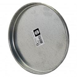 Capac metalic pentru conductă circulară Ø 200 mm