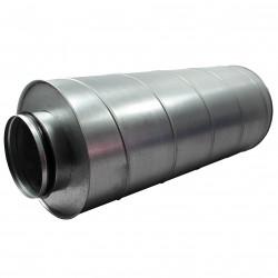 Amortizor de zgomot Ø 125 mm, lungime 600 mm