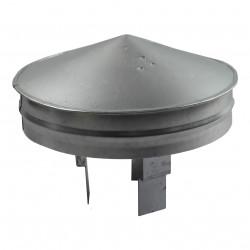 Capac terminal de protecție reglabil pentru capătul conductei Ø 80 - 125 mm