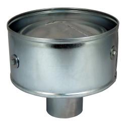 Capac terminal protector pentru capătul conductei Dalag CAGI Ø 100 mm