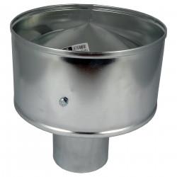 Capac terminal protector pentru capătul conductei Dalag CAGI Ø 125 mm