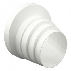 Reducție universală PVC excentrică pentru diferite diametre la conducte Ø 80 / 100 / 120 / 125 / 150 / 160 mm