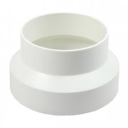 Reducție circulară PVC pentru diametru la conducte Ø 80 / 100 mm