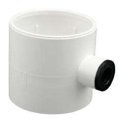 Sifon plastic pentru drenajul condensului de apă la conducta de aer Ø 100 mm