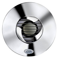 Grilă frontală colorată pentru ventilator iCON 15 în culoare crom
