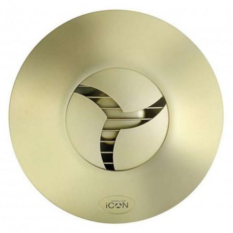 Grilă frontală colorată pentru ventilator iCON 15 în culoare aur mat
