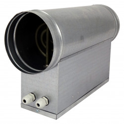 Baterie de încălzire electrică circulară Ø 125 mm / 1,2kW