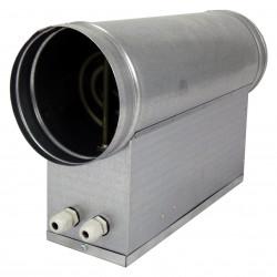Baterie de încălzire electrică circulară Ø 125 mm / 2,4kW