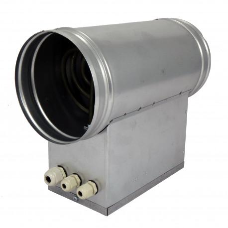 Baterie de încălzire electrică circulară Ø 160 mm / 6,0kW