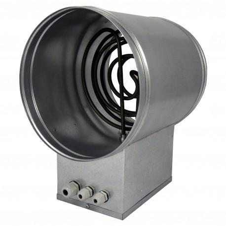 Baterie de încălzire electrică circulară Ø 250 mm / 9,0kW